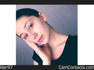 Webcam model kler97 from CamContacts