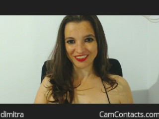 Webcam model dimitra from CamContacts