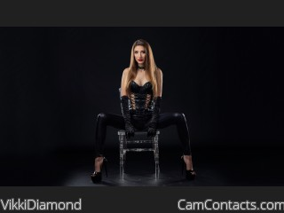 Start VIDEO CHAT with VikkiDiamond