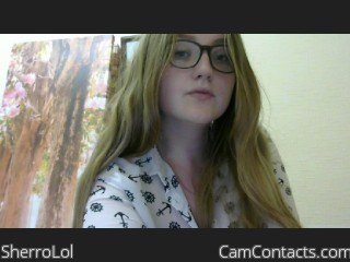 Webcam model SherroLol from CamContacts