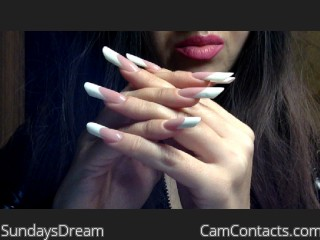 Webcam model SundaysDream from CamContacts