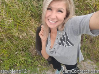 Start VIDEO CHAT with sexyblond12