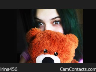 Webcam model Irina456 from CamContacts