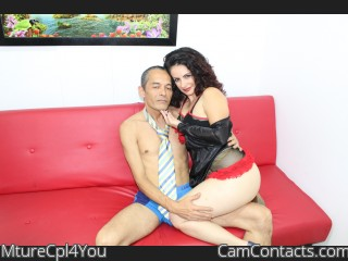 Webcam model MtureCpl4You from CamContacts