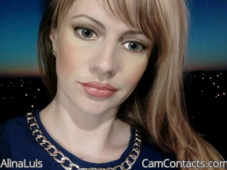 Webcam model AlinaLuis from CamContacts