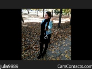 Webcam model Julia9889 from CamContacts