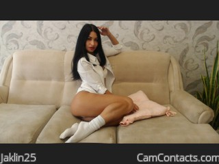 Webcam model Jaklin25 from CamContacts