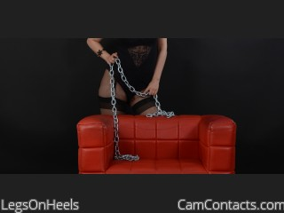 Start VIDEO CHAT with LegsOnHeels