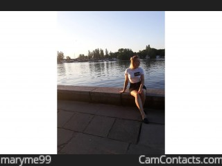 Webcam model maryme99 from CamContacts