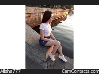 Webcam model Alisha777 from CamContacts