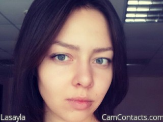 Webcam model Lasayla from CamContacts