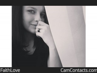 Webcam model FaithLove from CamContacts