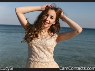 Webcam model LucySi from CamContacts