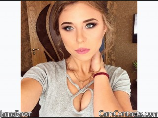 Webcam model JanaRawr from CamContacts