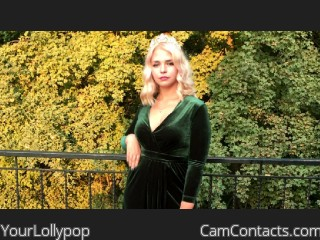 Webcam model YourLollypop from CamContacts