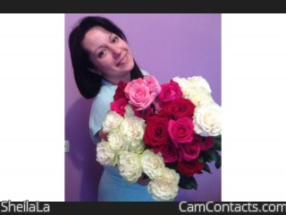 Webcam model SheilaLa from CamContacts