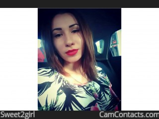Webcam model Sweet2girl from CamContacts