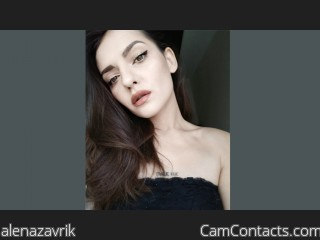 Webcam model alenazavrik from CamContacts