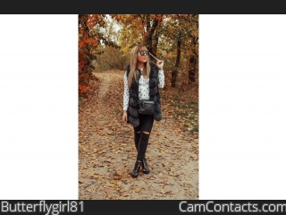 Webcam model Butterflygirl81 from CamContacts