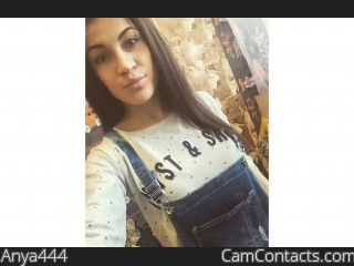 Webcam model Anya444 from CamContacts