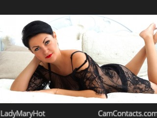 Webcam model LadyMaryHot from CamContacts