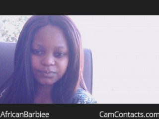 Webcam model AfricanBarbiee from CamContacts