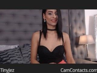 Webcam model TinyJez from CamContacts