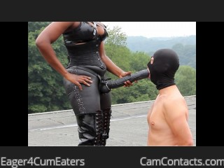 Webcam model Eager4CumEaters from CamContacts