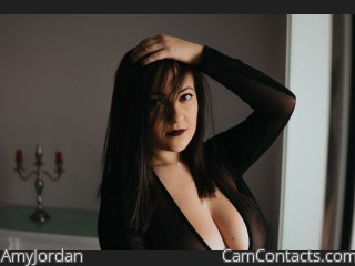 Webcam model AmyJordan from CamContacts