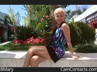 Webcam model 8Mary from CamContacts