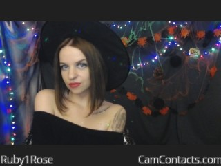 Webcam model Ruby1Rose from CamContacts