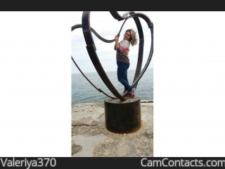 Webcam model Valeriya370 from CamContacts