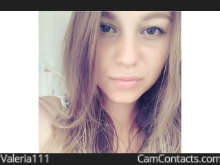 Webcam model Valeria111 from CamContacts
