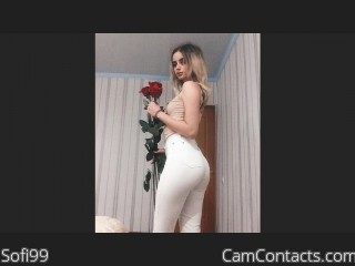 Webcam model Sofi99 from CamContacts