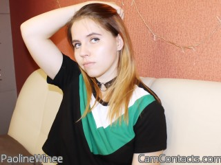 Webcam model PaolineWinee from CamContacts