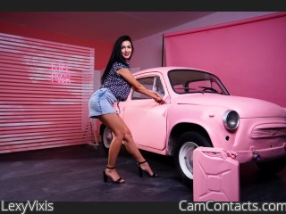 Webcam model LexyVixis from CamContacts