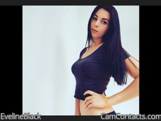 Webcam model EvelineBlack from CamContacts