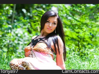 Webcam model Tonya97 from CamContacts