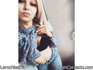 Webcam model Lerochka97 from CamContacts