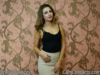 Webcam model BrookDiamond from CamContacts