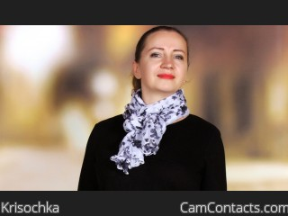 Webcam model Krisochka from CamContacts