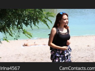 Webcam model Irina4567 from CamContacts