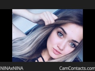 Webcam model NINAxNINA from CamContacts