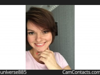 Webcam model universe885 from CamContacts