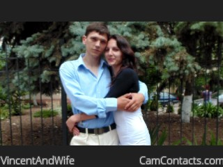 Webcam model VincentAndWife from CamContacts