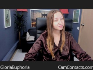 Webcam model GloriaEuphoria from CamContacts