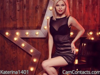 Webcam model Katerina1401 from CamContacts