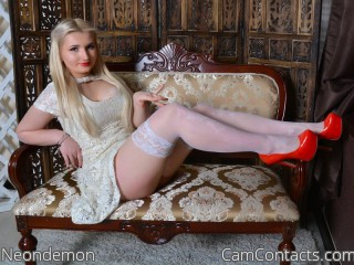 Webcam model Neondemon from CamContacts