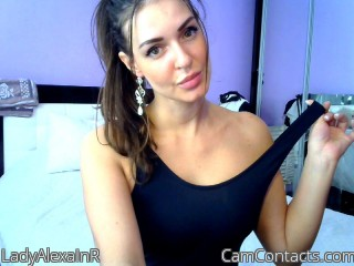 Webcam model LadyAlexaInR from CamContacts