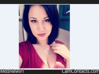 Webcam model MissNew91 from CamContacts